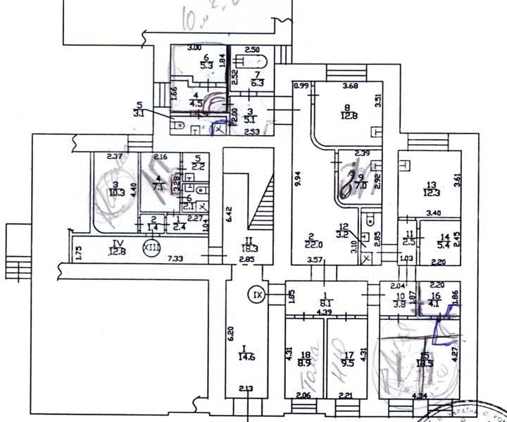 План помещения - www.mn.kiev.